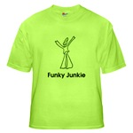 Funky Junkie T-Shirt and other funk gear
